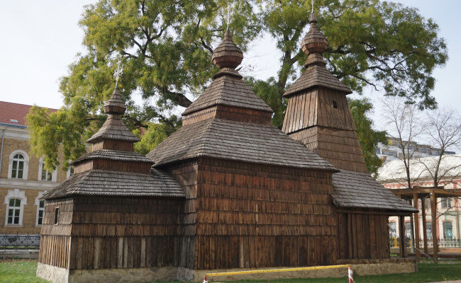 The wooden church | Eastern Slovak Museum